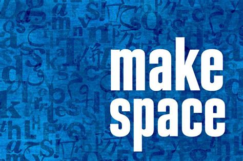 Make Space by Pen International Make Space