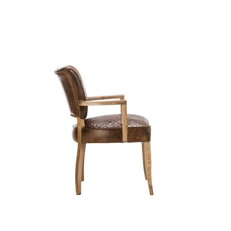 timothy oulton mimi quilt dining chair with arms