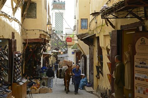fes el bali  imperial cities pictures morocco