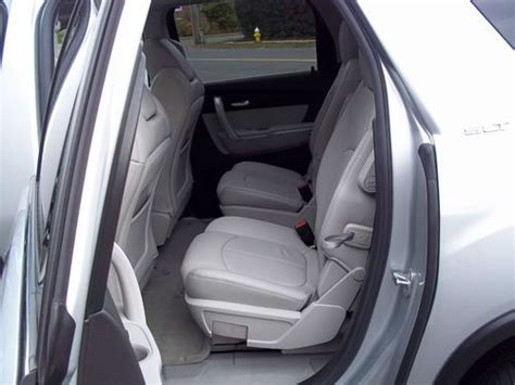 find used 2011 gmc acadia slt 1 awd v6 captain chairs 3rd