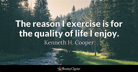 kenneth  cooper  reason  exercise
