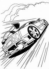 Rocket League Coloring Sketch sketch template