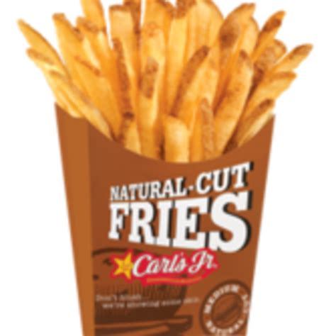 NATURAL-CUT FRENCH FRIES - SMALL - Carl's Jr., View Online ...