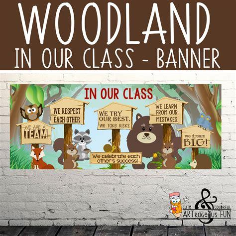 Pin on WOODLAND animals Classroom Decor ARTrageous FUN