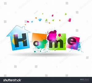 House Background, Home Silhouette Stock Vector ...