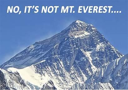 Tallest Mountain Everest Mt Highest Point Level
