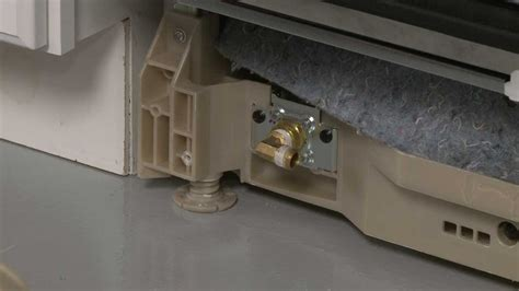dishwasher water inlet valve replacement bosch dishwasher repair part  youtube