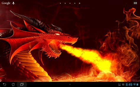 animated dragon wallpaper wallpapersafari
