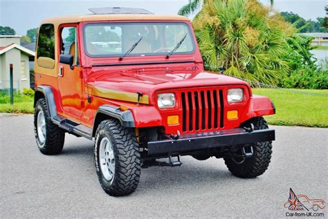 Simply Beautiful And Rare 1988 Jeep Wrangler Olympic