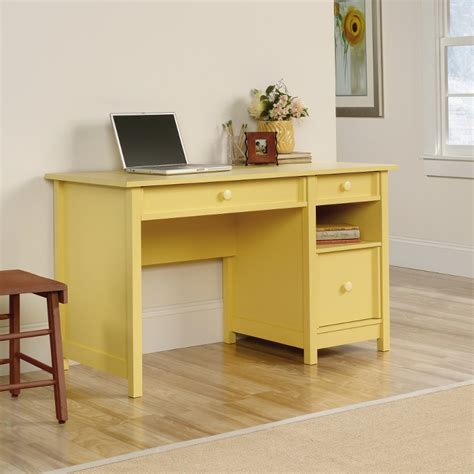 Yellow Office Desk by Original Cottage Melon Yellow Desk Rc Willey Furniture Store
