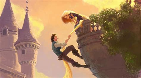 Tangled Meet Flynn Rider Clip Plus Concept Artworks