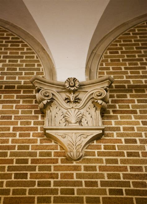 Corbel Bricks by Corbel On Brick Wall Clippix Etc Educational Photos For
