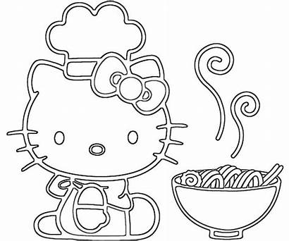 Coloring Hello Kitty Pages Characters Character Creativity