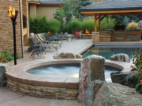 Patios With Tubs by Tubs And Spas Backyard Tubs Tubs And Tubs