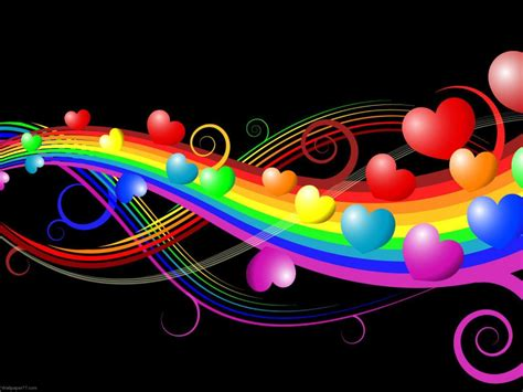 Find the best hearts wallpaper background on wallpapertag. Colorful Hearts Wallpapers - Wallpaper Cave