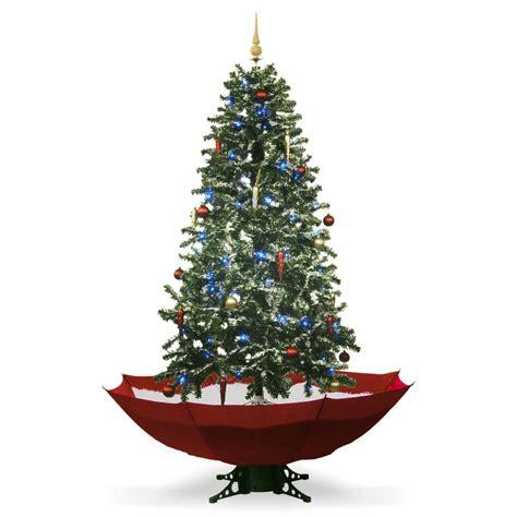 snowing christmas tree 1 75m mikamax