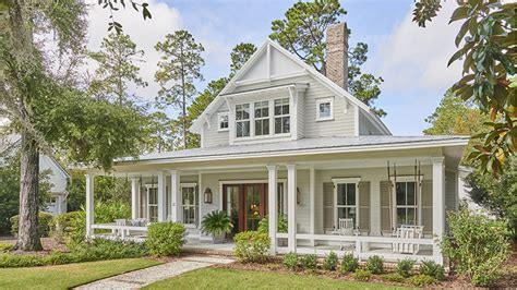 lowcountry farmhouse coastal living house plans