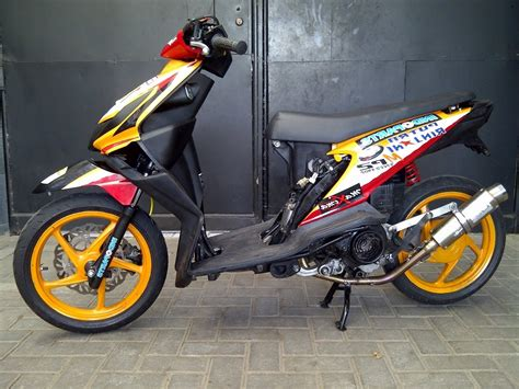 Modifikasi Motor Beat 2017 by 50 Gambar Modifikasi Honda Beat Gaya Road Race Terbaru