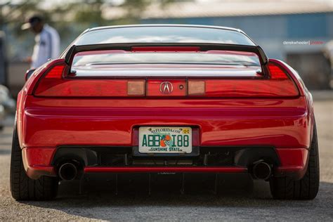 5 element railer rear diffuser for acura nsx difflow