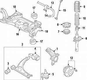 Volkswagen R32 Suspension Control Arm