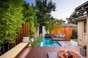 Kleiner Pool Für Terrasse : garten mit pool 90 bilder und inspirierende beispiele ~ Orissabook.com Haus und Dekorationen