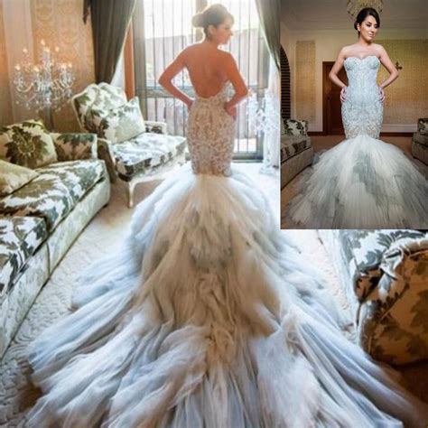 Couture Mermaid Wedding Dresses Wedding And Bridal