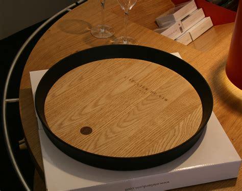 maitre de chais maître de chai tray oak black by l 39 atelier du vin