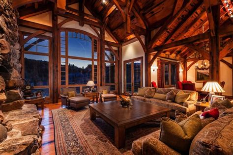 Rustic Interiors, Mountain Home