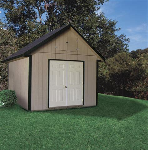 Storage Sheds At Menards by Midwest Manufacturing 10 W X 10 D Lofted Storage Building
