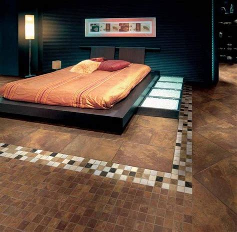 Bedroom Carpet Tiles by 20 Master Bedroom Designs With Tile Flooring