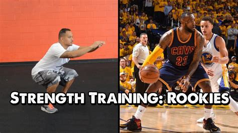 basketball strength training rookies youtube