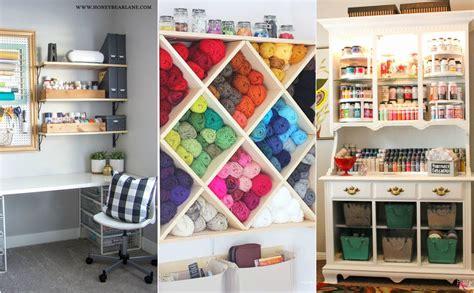 Totally Inspiring Craft Room Storage Ideas