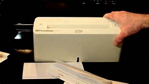 pitney bowes 6090 trifold letter folder machine youtube With pitney bowes letter folder