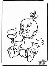 Coloring Baby Pages Newborn Popular sketch template