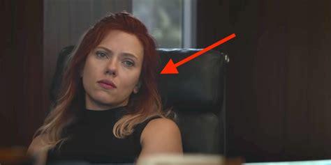 Avengers Endgame Why Black Widow Hair Could Signal
