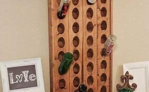 DIY // Wine Rack Hometalk