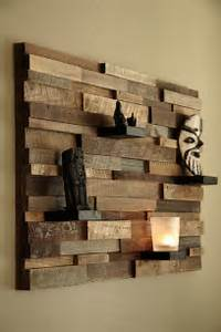 Magnificent examples of reclaimed wood wall art