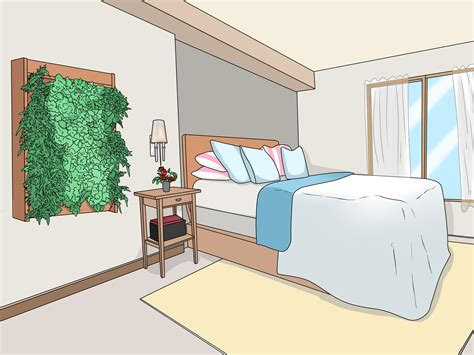ways  decorate bedroom walls wikihow