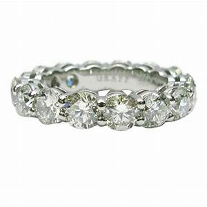 Graff 480 carats diamonds platinum eternity band ring for for Graff wedding rings