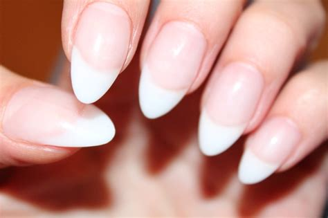 25+ Best Ideas About Almond Nails French On Pinterest