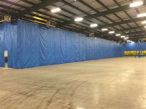 warehouse divider curtains cold storage plastic wall panels