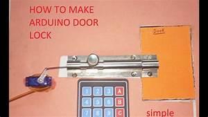 How To Make Arduino Door Lock  Hindi