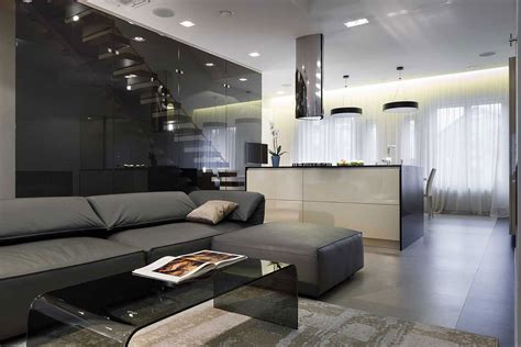 Contemporary Apartment : Nns Modern Apartment In Saint Petersburg By Mudrogelenko