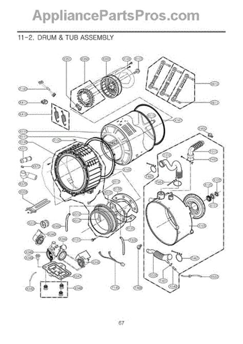 lg mds gasket appliancepartsproscom