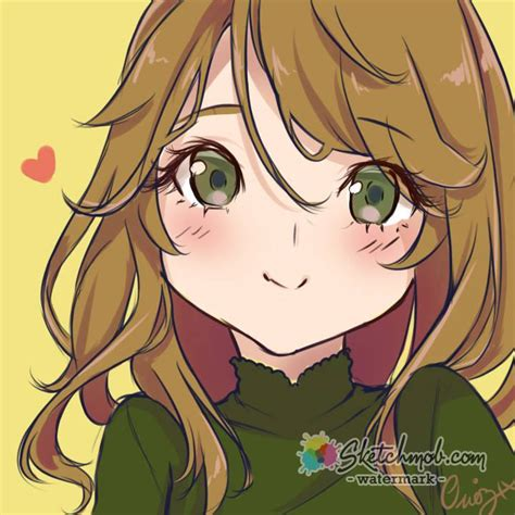 Custom Simple Anime Profile Picture Art Commission Sketchmob