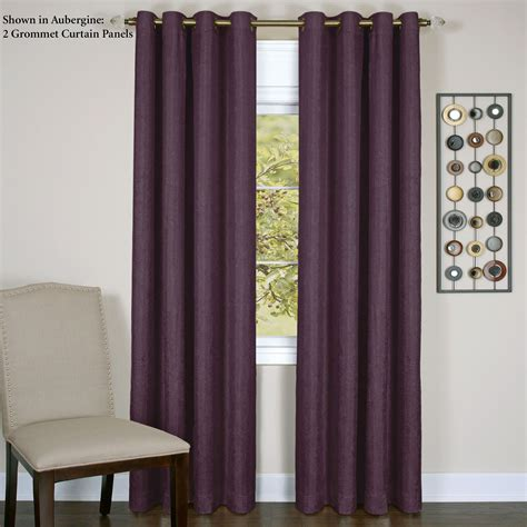 room darkening grommet curtain panel