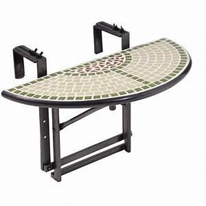 Tisch Für Balkongeländer : balkon h nge tisch balkon h ngetisch balkonh ngetisch mosaik 60x30 cm ebay ~ Whattoseeinmadrid.com Haus und Dekorationen