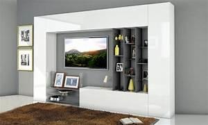 Mobili da parete per soggiorno groupon goods for Mobili da parete