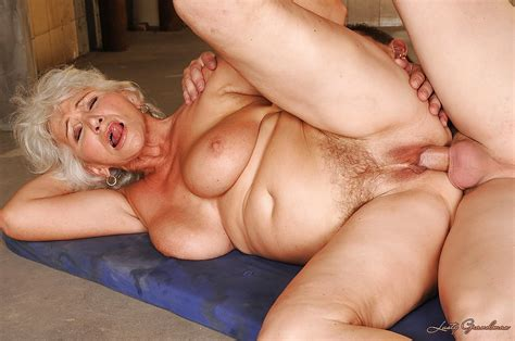 Lusty Granny With Flabby Boobs Gets A Large Cumshot After