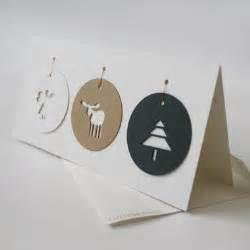 designer weihnachtskarten 10 idées pour créer des cartes de noël